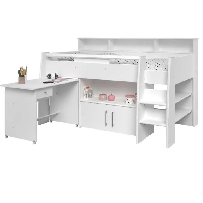 dave lit combine enfant avec bureau