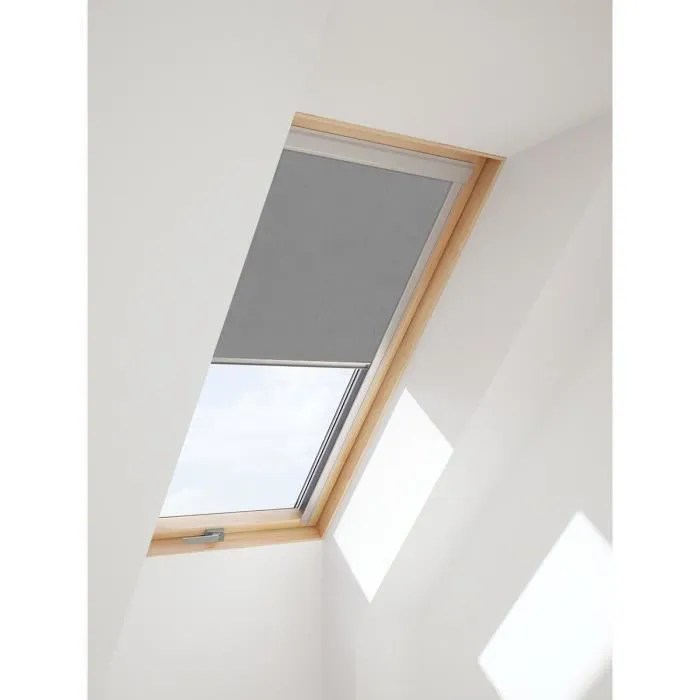 store occultant pour velux s08 sk08 608 10 gri