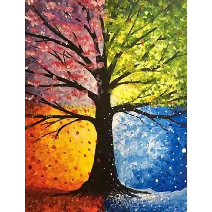 Get 45 Tableau Peinture Facile A Faire