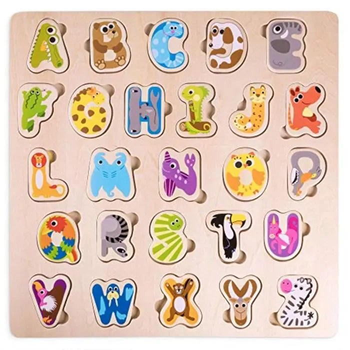 casse tete hfutl alphabet animal du