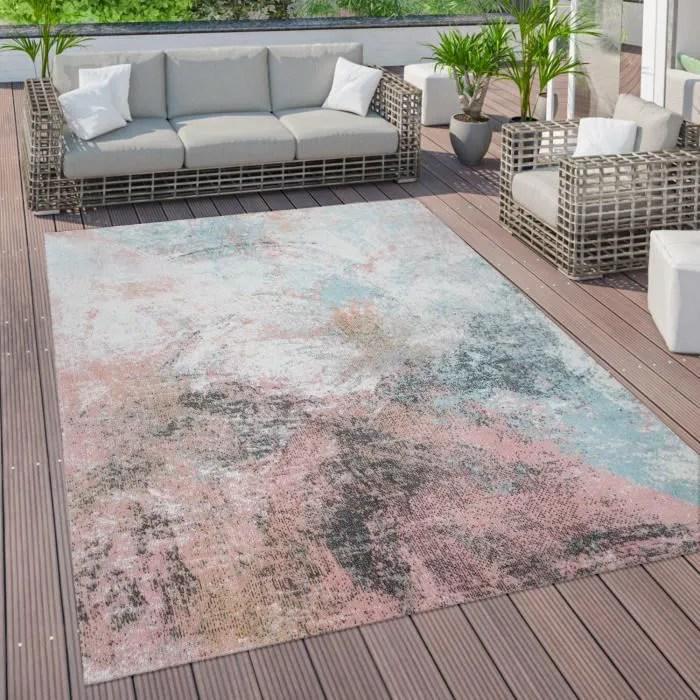 tapis d exterieur terrasse vintage tapis de cuisin