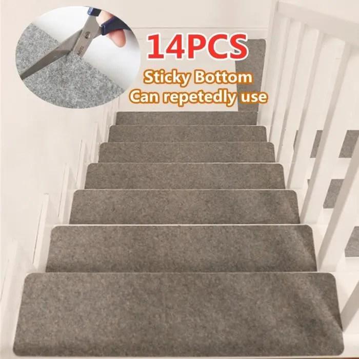 tempsa 14pcs set tapis d escalier rectangle antide