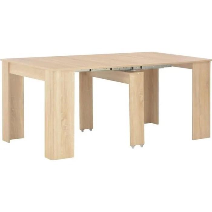 table a manger extensible 4 a 12 personnes