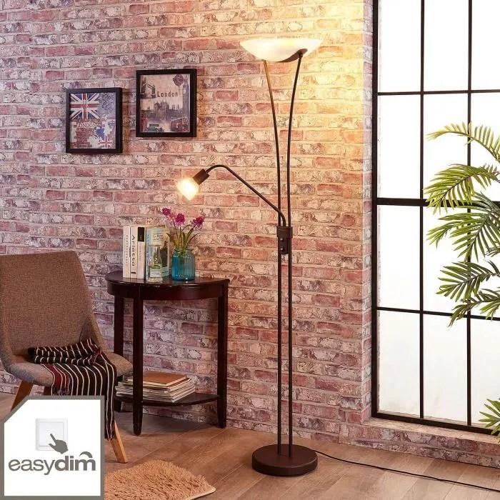 lampenwelt lampadaire led a intensite