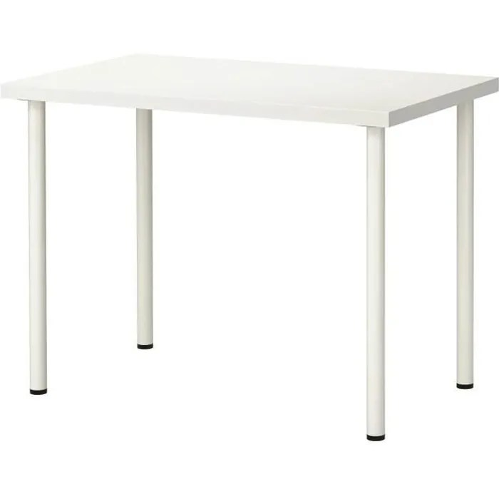 ikea linnmon adils table bureau blanc 100 x 60 cm