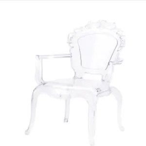 chaise transparente polycarbonate