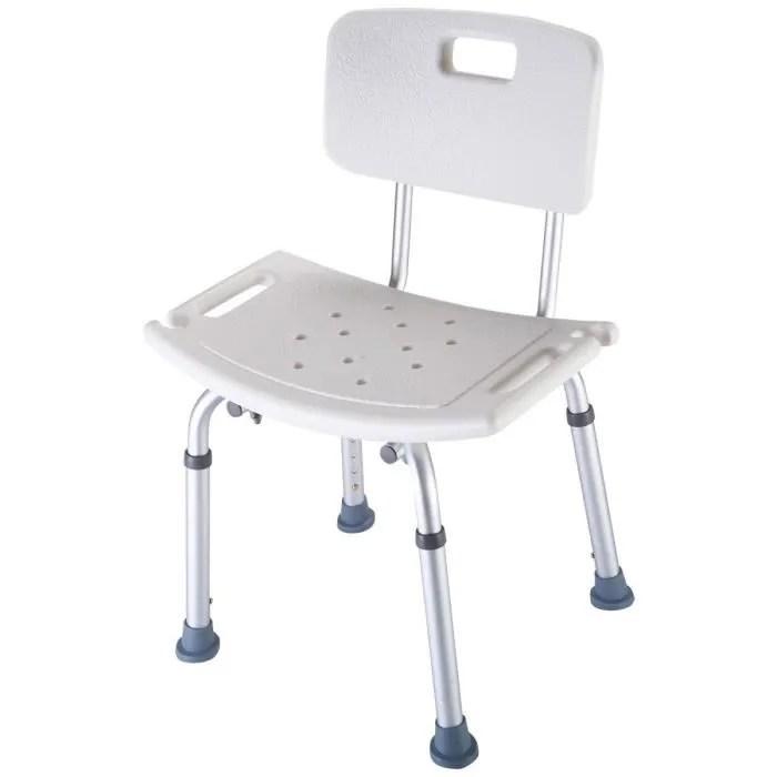 costway chaise de douche siege de bain