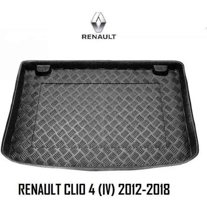 renault clio 4 2012 2018 tapis de coffre