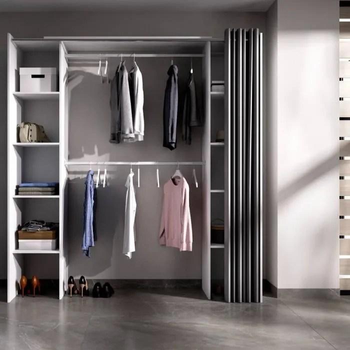 armoire dressing rideau