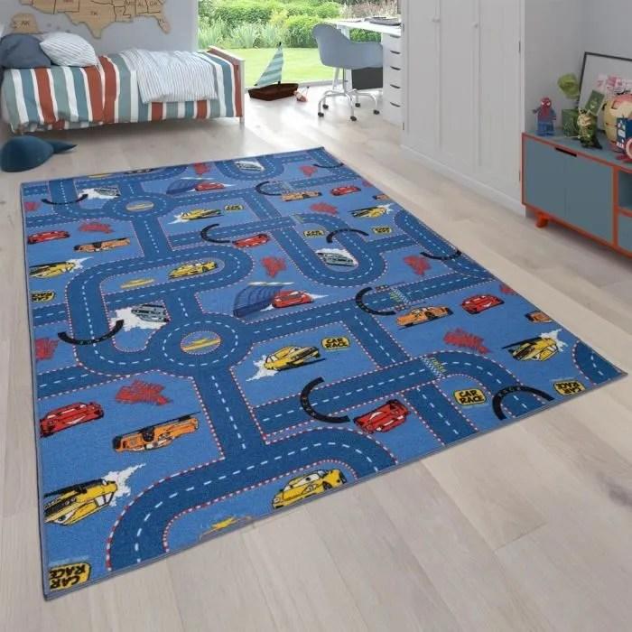 tapis pour enfant tapis reversible avec design ru