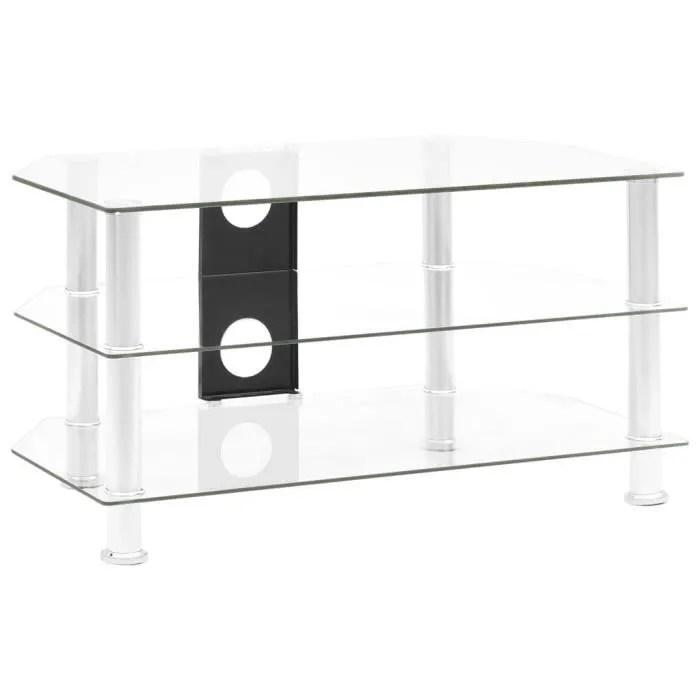 meubles hifi verre