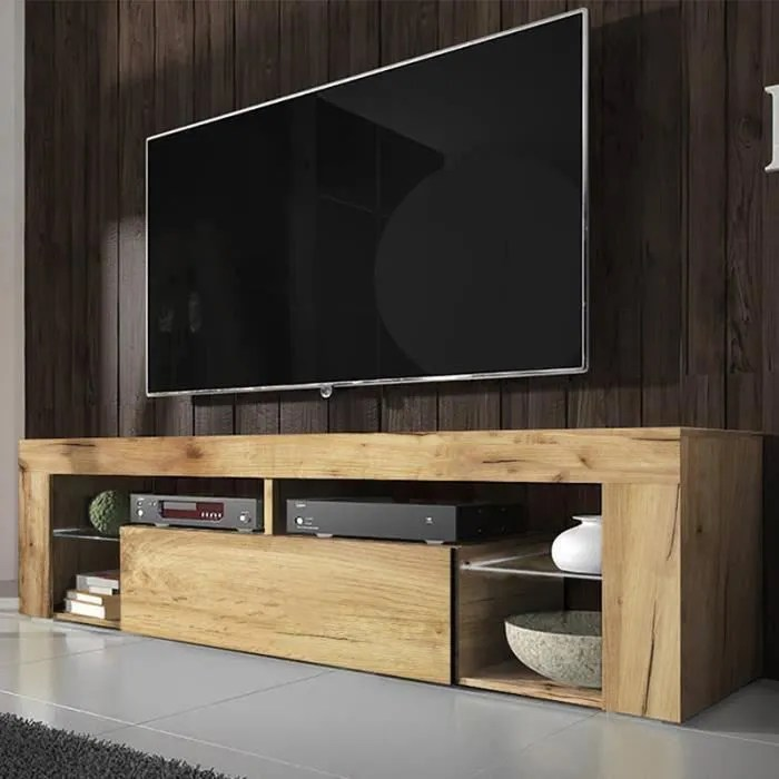 meuble tv banc tv bianko 140 cm