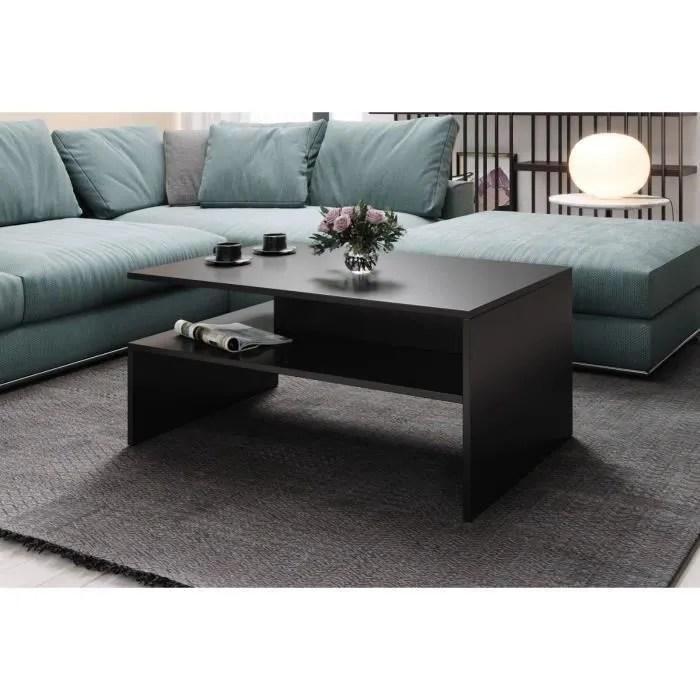 e com table basse salon hades 90 x 60 cm mat noir