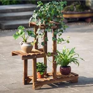 support en fonte deplacement plante