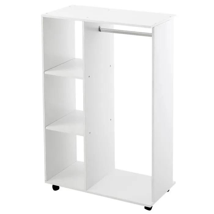 armoire blanc