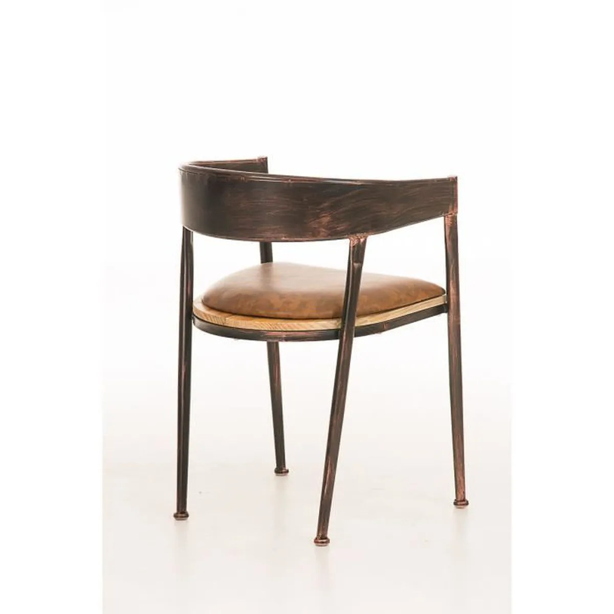 chaise de bar avec accoudoir bois