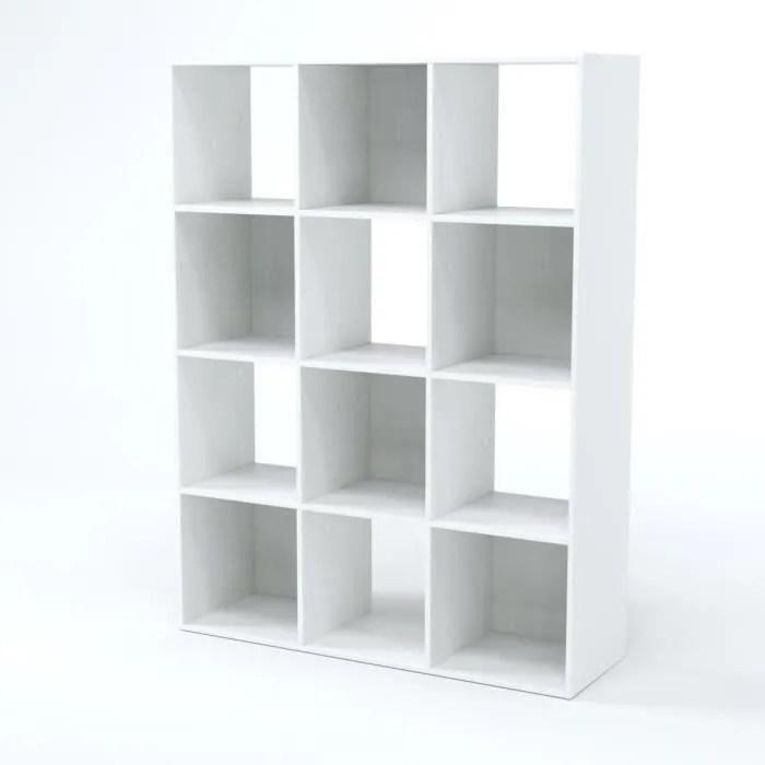 Meuble De Rangement Cube 12 Cases Achat Vente Pas Cher
