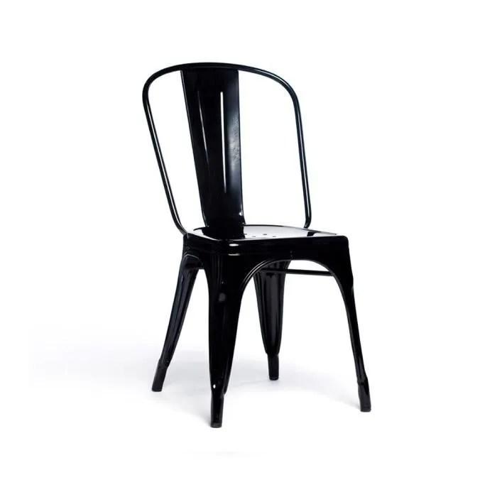 chaise bistrot noire achat vente