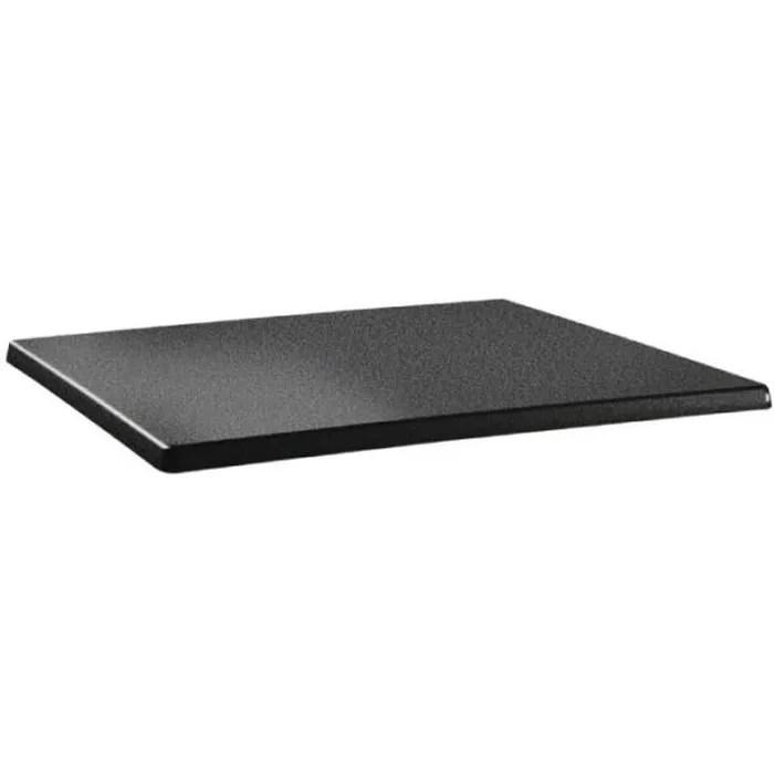 plateau de table 120 x 80 cm anthracite