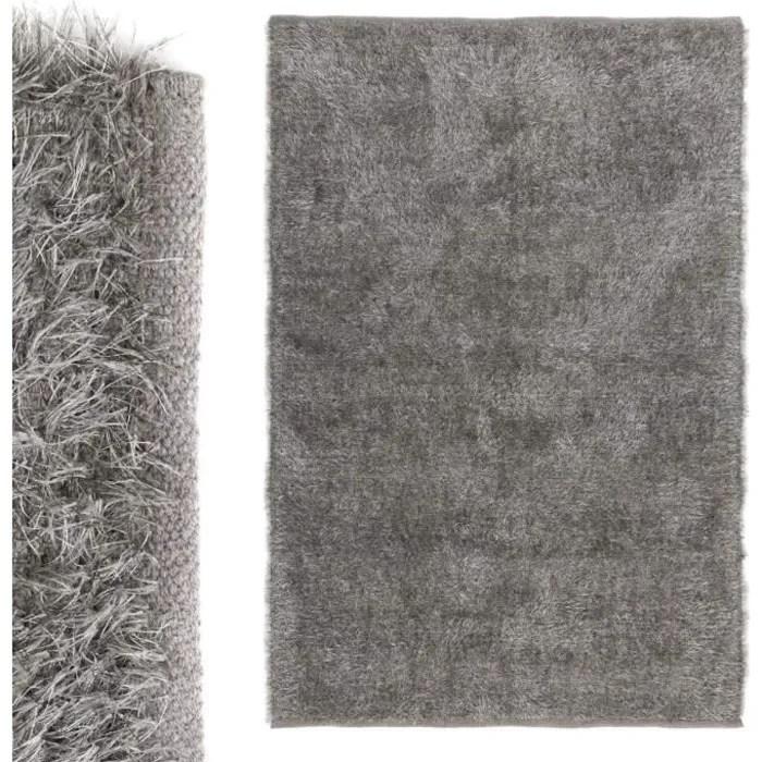 la maison et plus grand tapis de coton gris