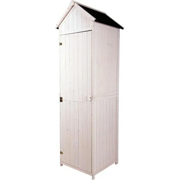 armoire abri de jardin remise pour outils 3 etager