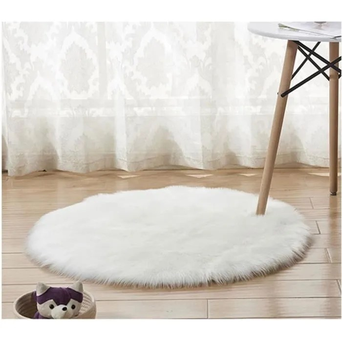 https www cdiscount com maison tapis tapis rond en fausse fourrure comme veritable lai f 11725 auc6115778158670 html