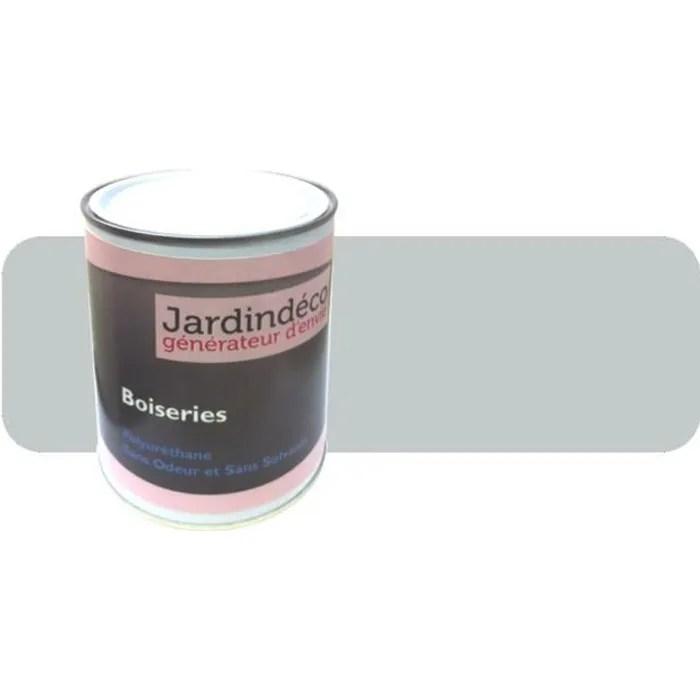 peinture gris clair pour meuble en bois brut 1 lit