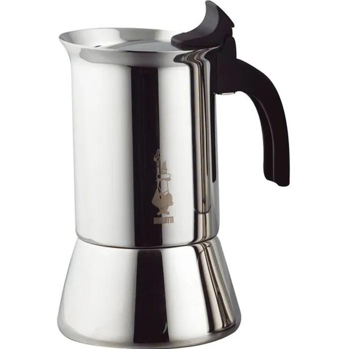 bialetti cafetiere inox 10 tasses venus induction