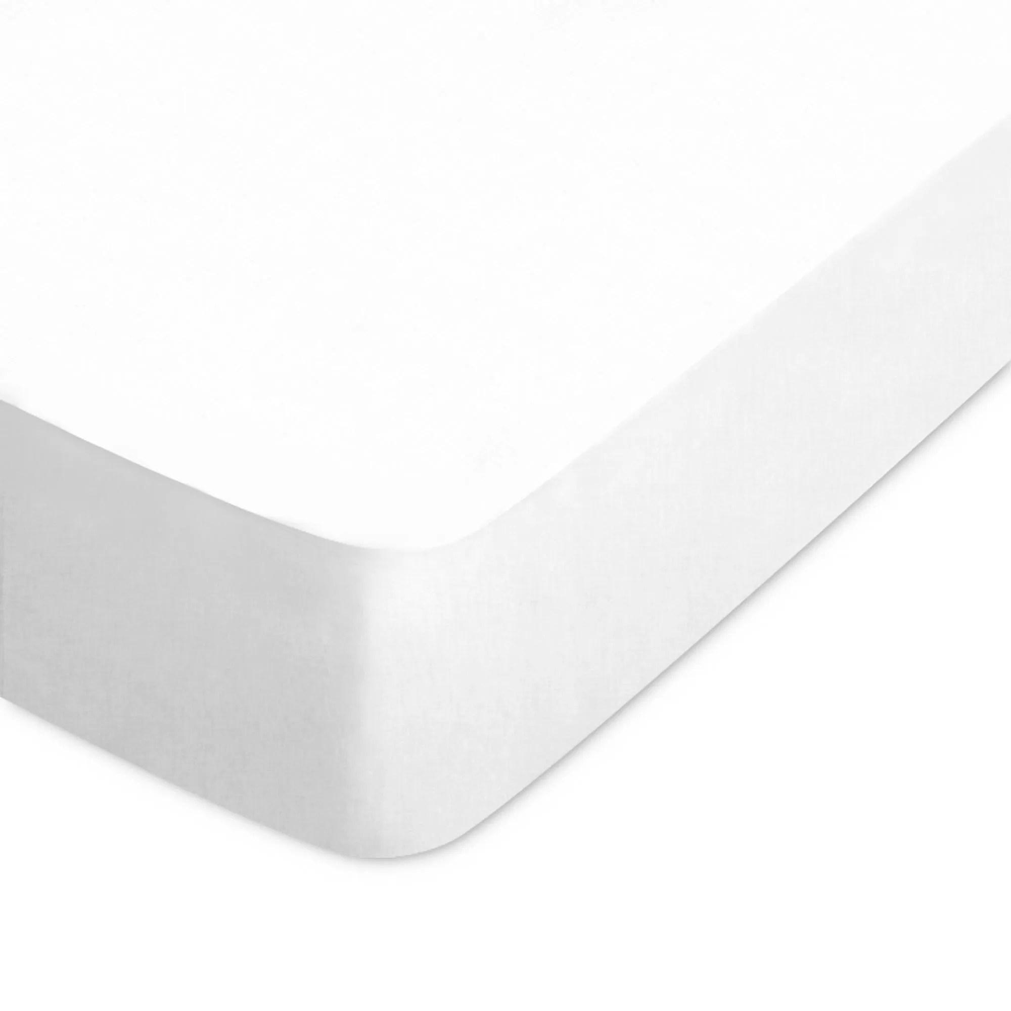 Drap Housse Coton 70x190 Blanc Cdiscount Maison