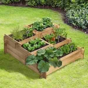carre potager en bois cdiscount jardin