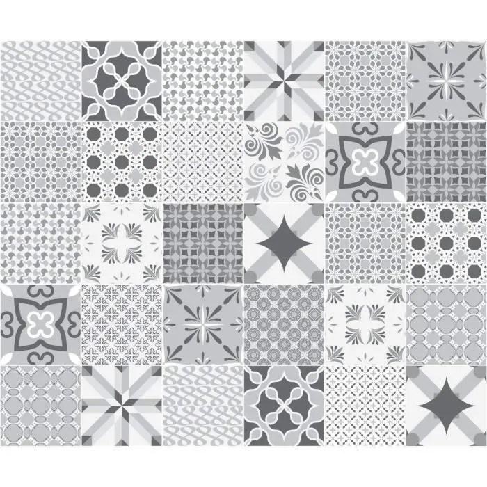 carreaux de ciment adhesif mural azulejos 10 x