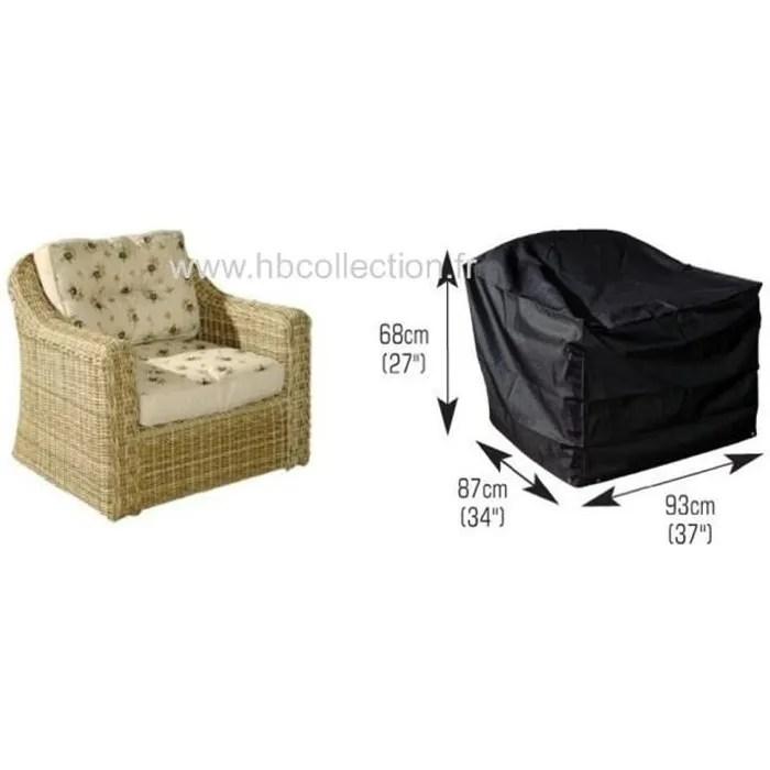 housse pour fauteuil de jardin gamme confort medium