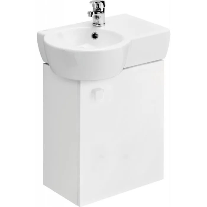 meuble gain de place vasque a gauche
