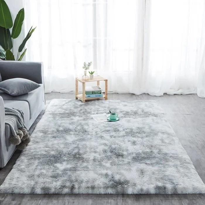 tempsa 160x80cm tapis de salon chambre shaggy long