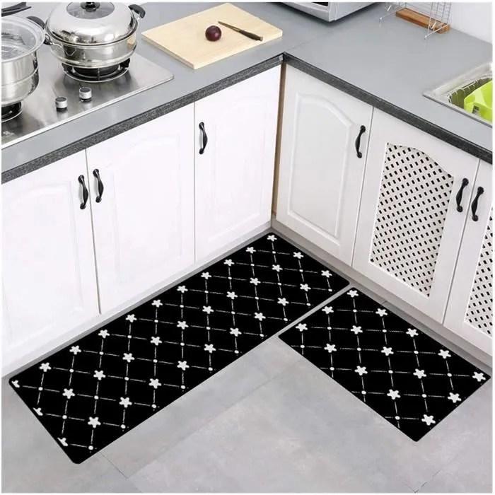 tapis de cuisine devant evier 2 pieces tapis en ca
