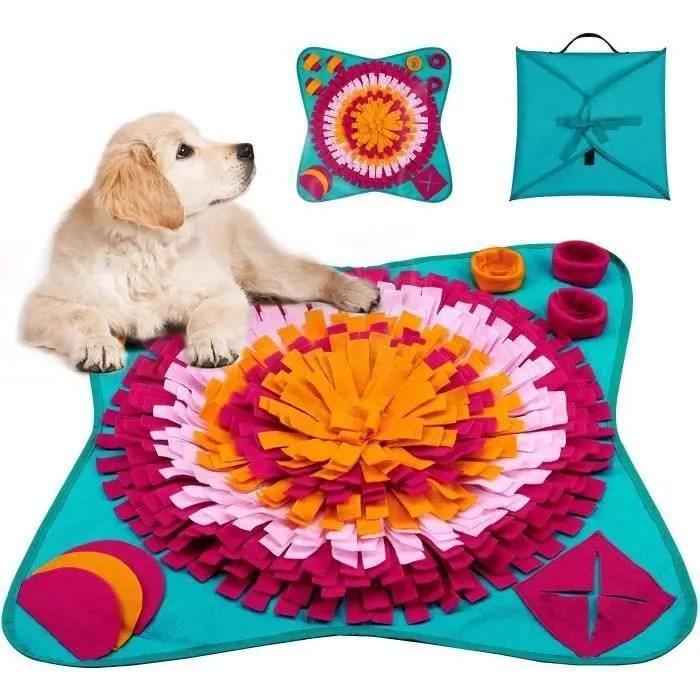 tapis snuffle chien tapis de fouille chien jeu t