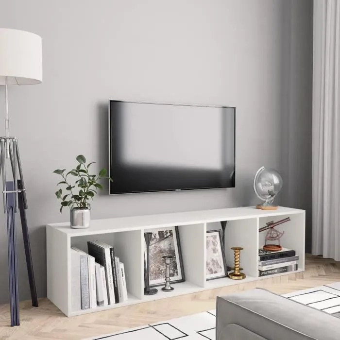 bibliotheque meuble tv etagere de rangement meuble