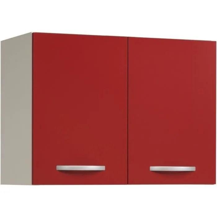 meuble haut de cuisine avec 2 portes