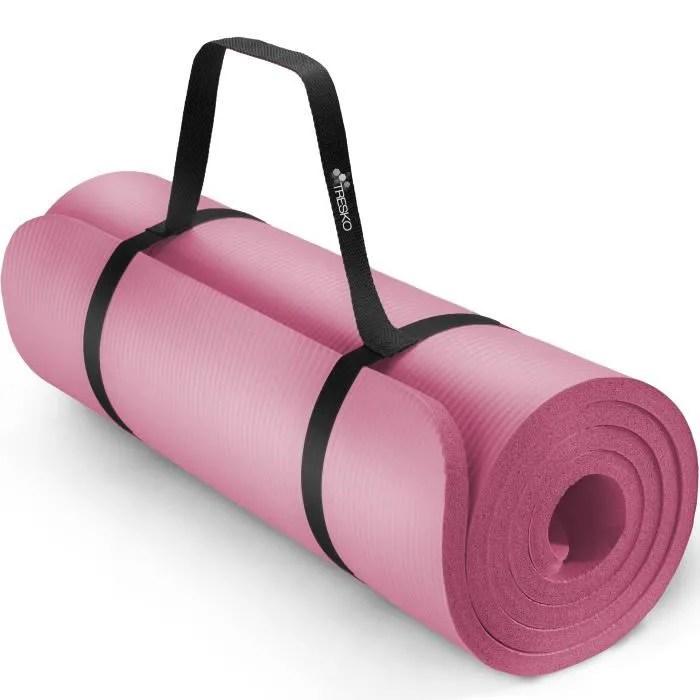 tresko tapis d exercice fitness yoga pilates gym
