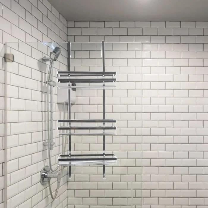 etagere de douche en acier inoxydable a suspendre
