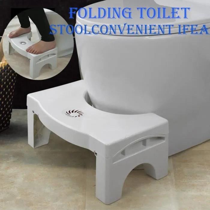 bois tabouret de toilette ameublement