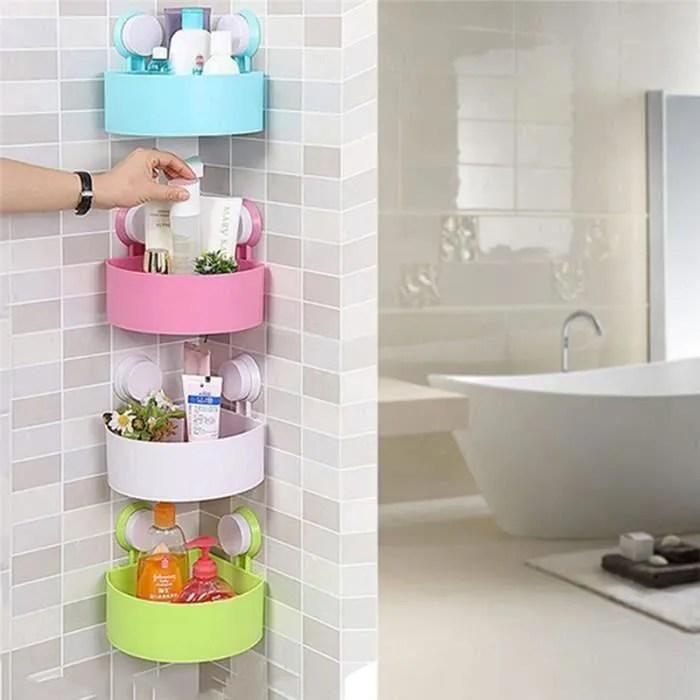 etagere angle plastique salle de bain