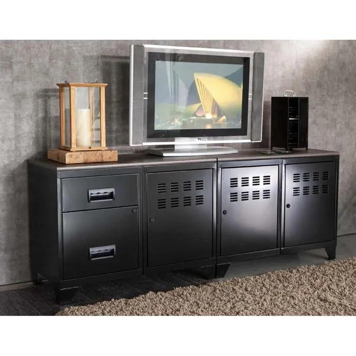 meuble tv modulable en metal