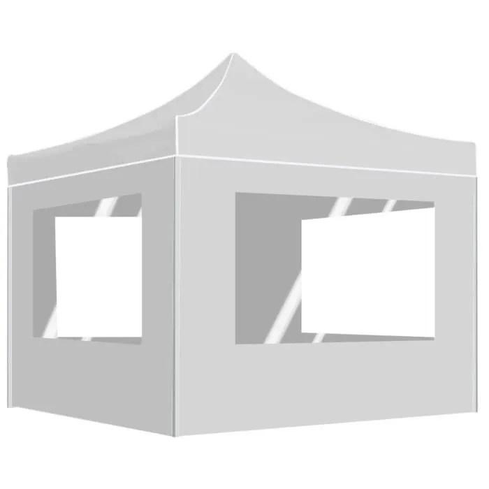magnifique tente de reception pliable tonnelle de