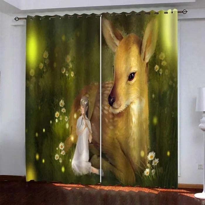 rideaux occultants fantaisie