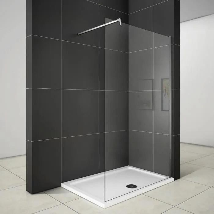 160x200cm paroi de douche paroi fixe