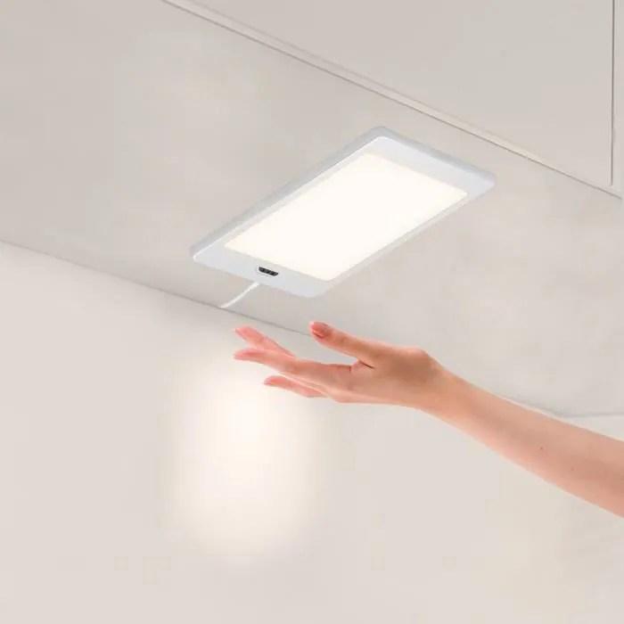 lampe de panneau lumineux a led sous meuble de cui