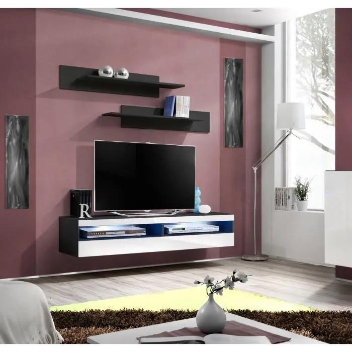 price factory meuble tv fly design coloris noi