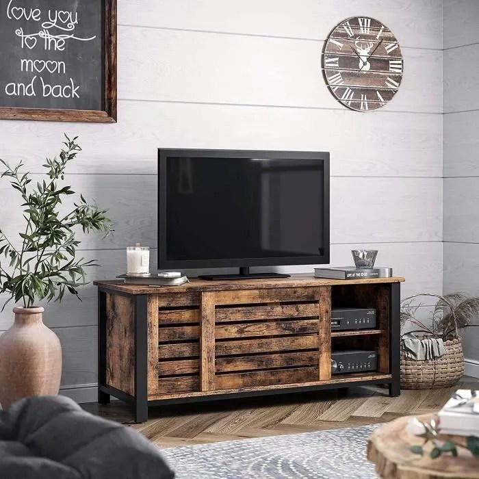 meuble tv fer