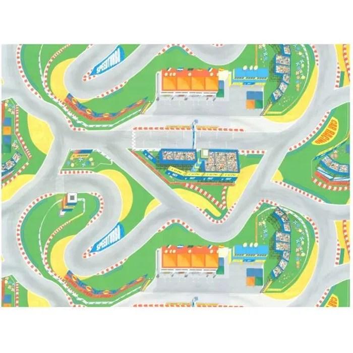 tapis vinyle pour enfants circuit grand prix f1